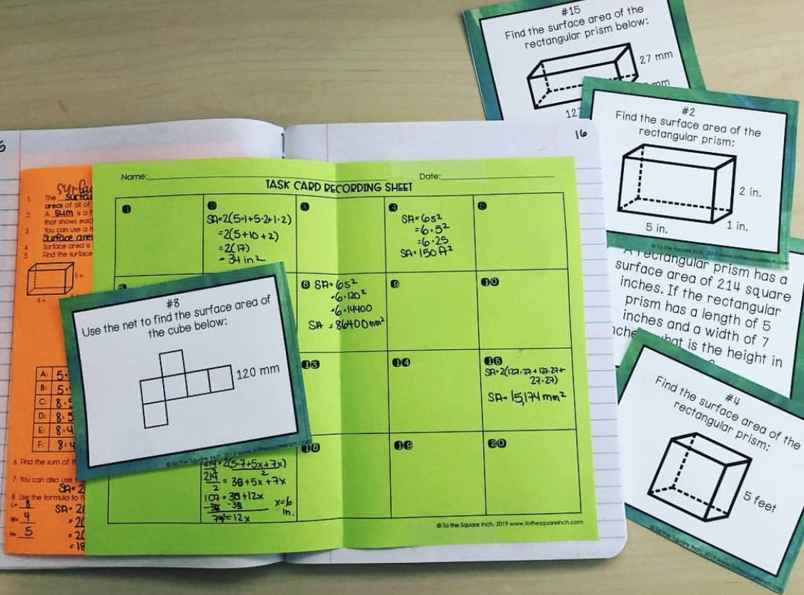 6th Grade Math Worksheet Problems