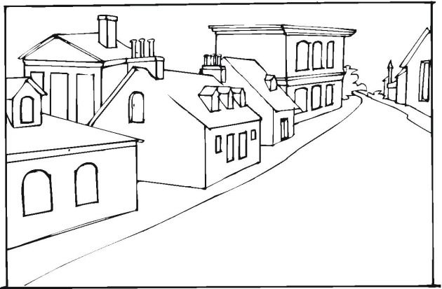 Free Buildings Coloring Pages   Teaching kids   Pinterest   Building