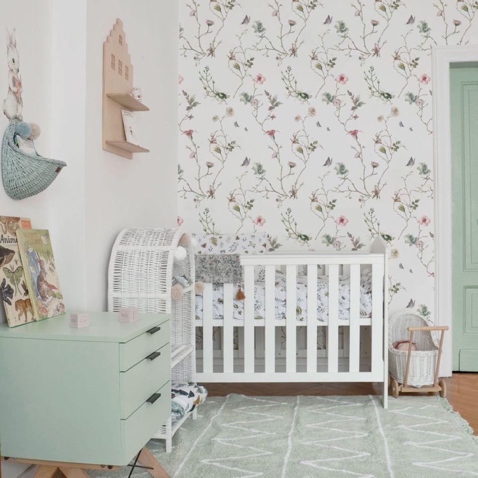 Tapeta Na Sciane Drobne Kwiaty Classic Wall Stickers Colorful Interiors Warm Interior