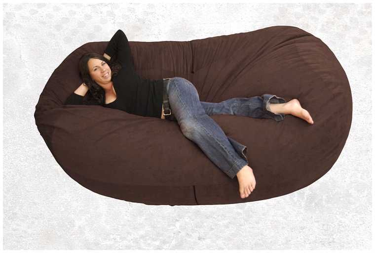 Attirant Furniture Leather Bean Bag Chairs And Get Inspired To Decorate Your  Furniture With Gorgeous Appearance 6 Magnificent Bean Bag Chairs For  Relaxing Your Body