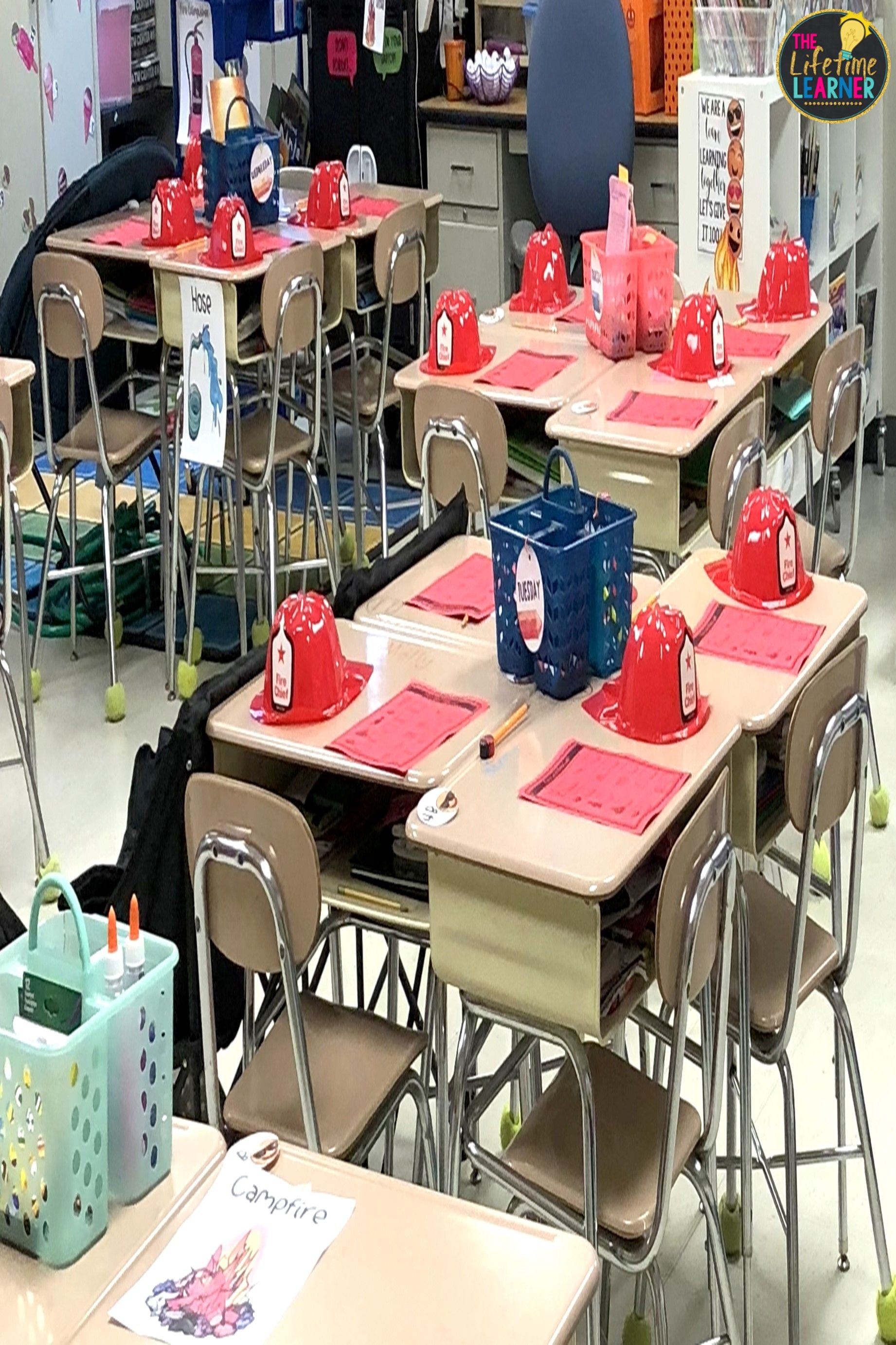 Firefighter Classroom Transformation