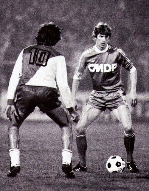 Arsène Wenger (RC Strasbourg) | Best soccer players ever ... Arsene Wenger Player