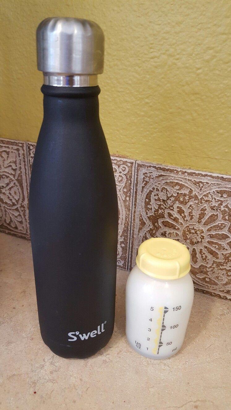 Breast milk swell pop