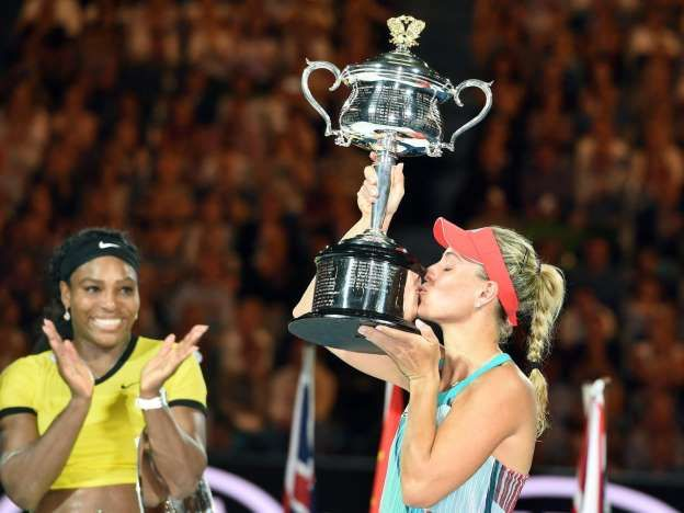 Kerber Macht Sensation Perfekt Triumph In Australien Angelique Kerber Australian Open Serena Williams