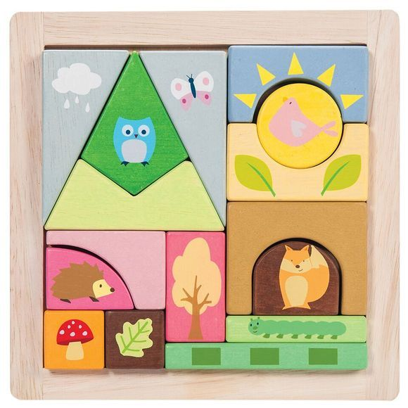 Køb Le Toy Van - Petilou Woodland puslespil - Fri fragt