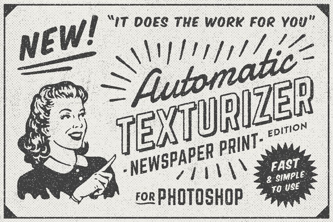 1950s Style Retro Ad Templates Retro Ads Letterpress Photoshop Newspaper Design