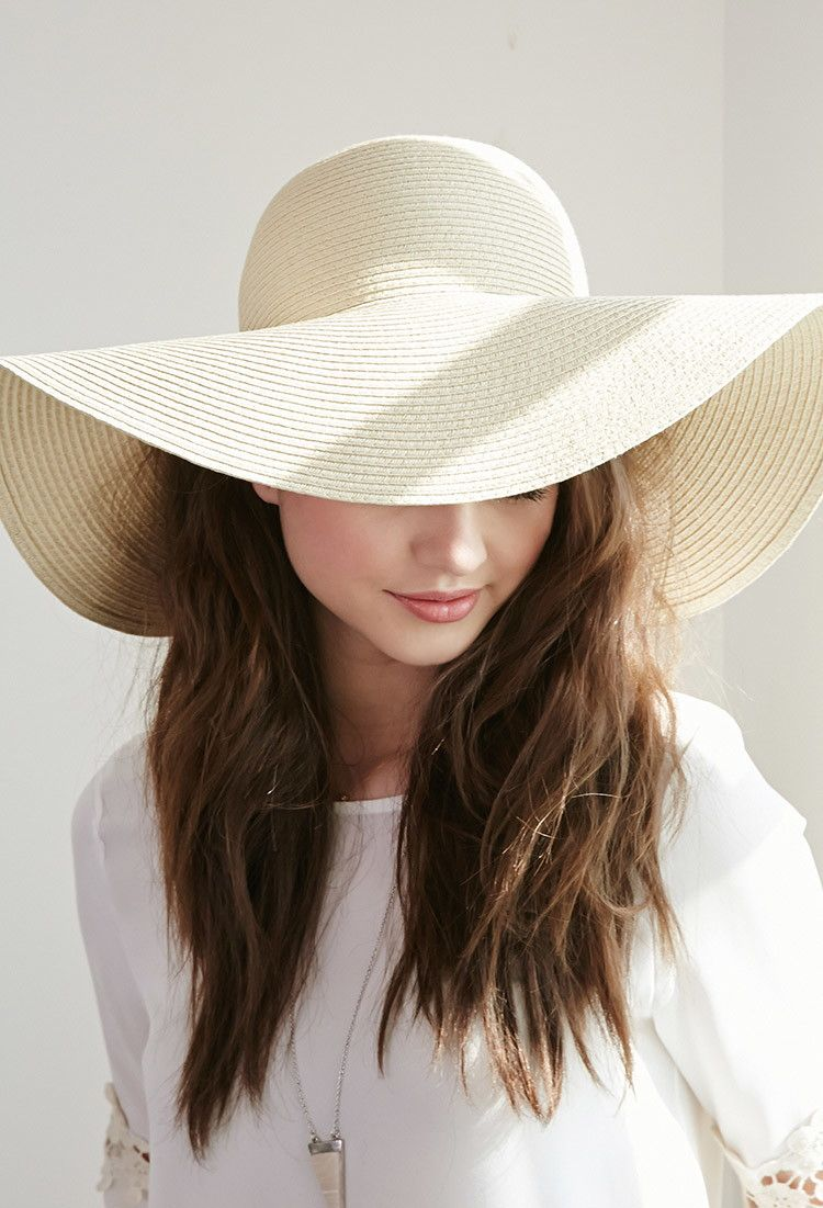 33c0ffe4b66 Floppy Wide-Brim Straw Hat