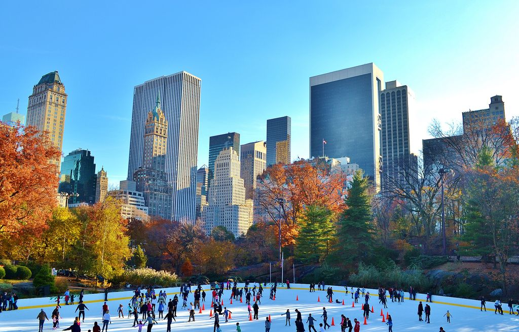Central Park Ice Skating Tickets New York City