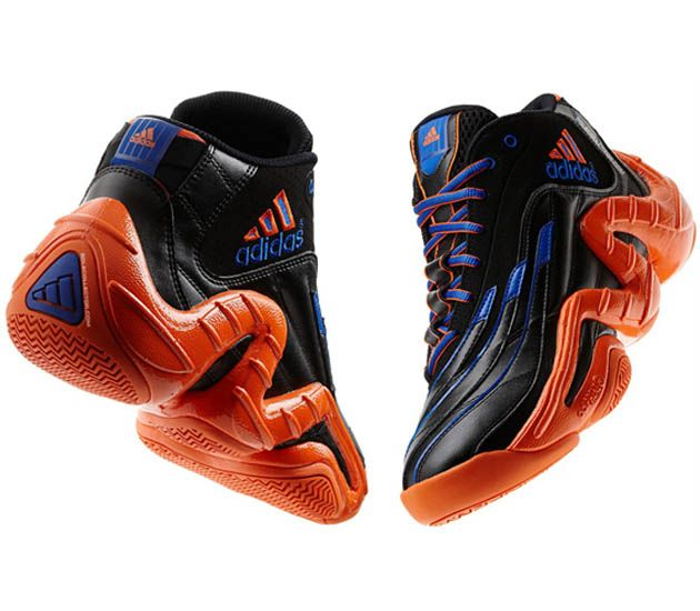 "huge discount 75248 ecc38 adidas Basketball Real Deal ""Knicks"" damnn i wanna this shoes"