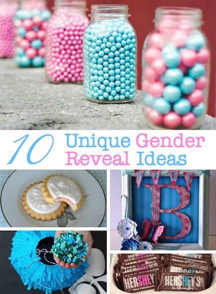 10 Unique Gender Reveal Party Ideas Baby Gender Reveal