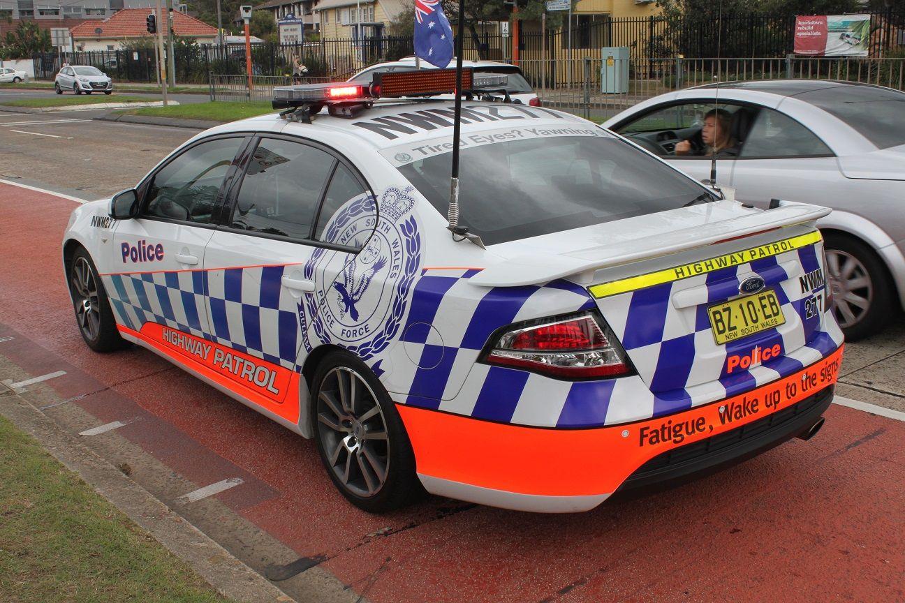 2014 Ford Falcon Fg Ii Xr6 Turbo Sedan New South Wales Police