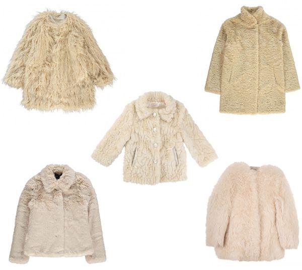 Los abrigos de piel para niñas más fashion de este invierno 2015-2016, by mini little magazine
