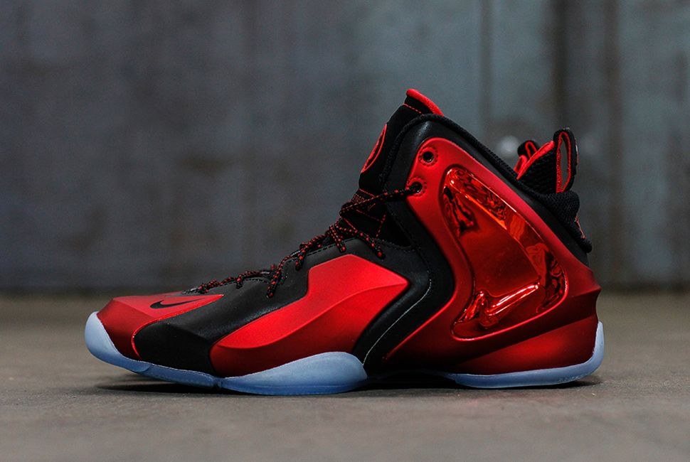 """Nike Lil Penny Posite """"University Red"""" (Release Reminder & Detailed Pics) -"""