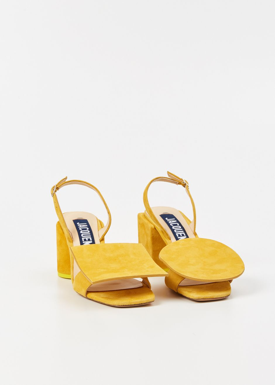 Jacquemus Les Rond Carre (Yellow)