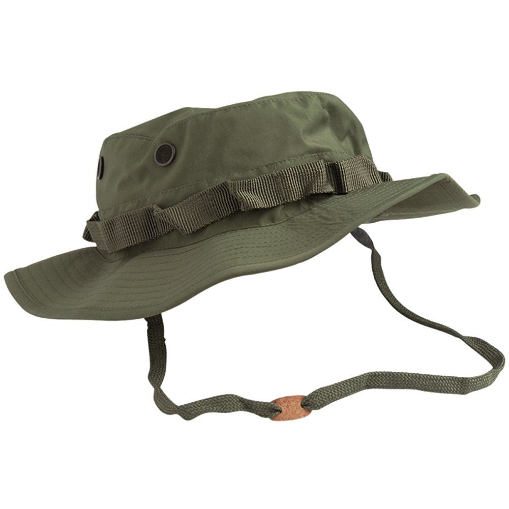 Teesar US GI Trilaminate Boonie Hat Olive size XXL. Waterproof and  breathable construction. Durable e17b5360df4