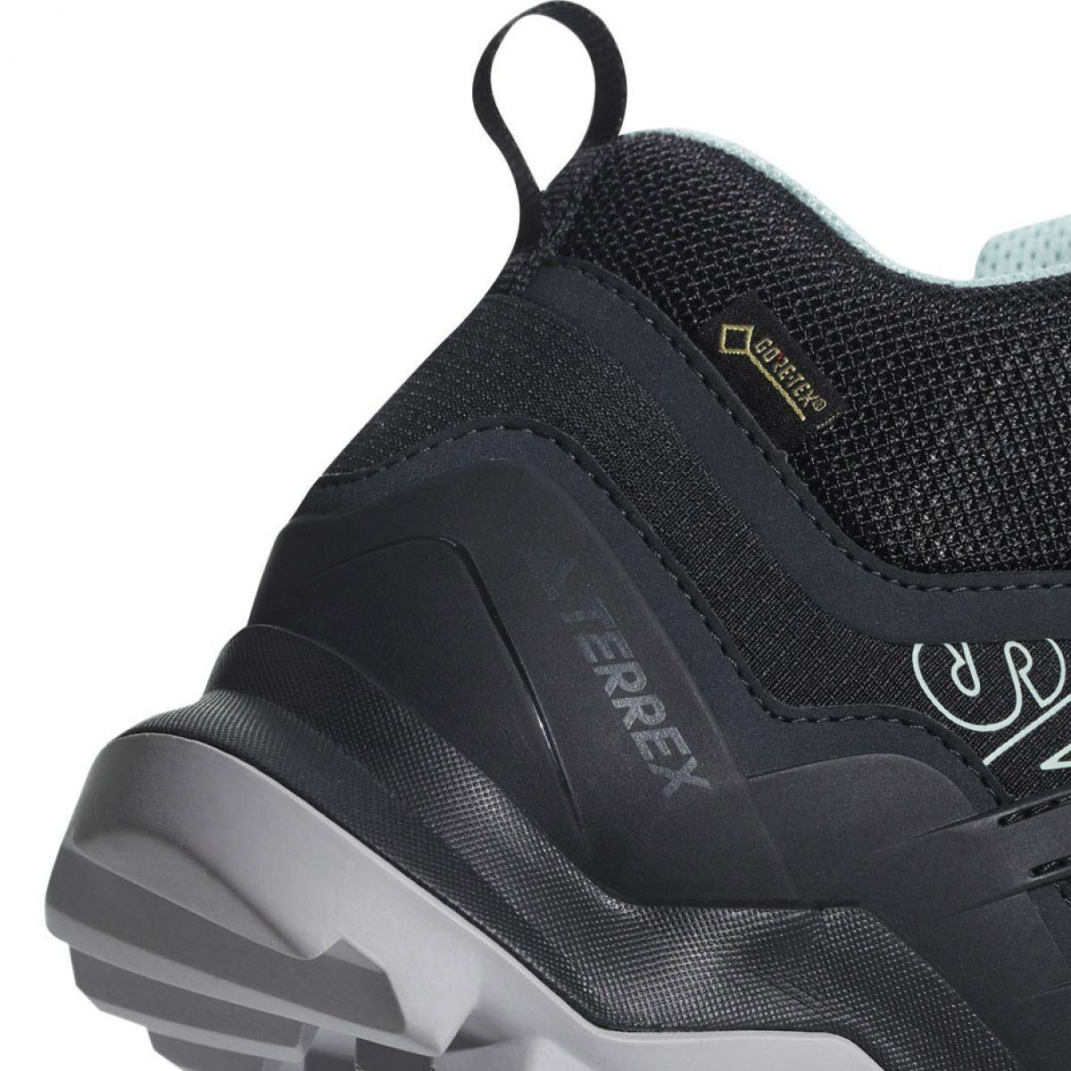 Buty Trekkingowe Adidas Terrex Swift R2 Mid Gtx W Cm7651 Czarne Sketchers Sneakers Adidas Shoes
