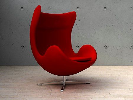 Design Fauteuil Egg.Fauteuil Oeuf Egg Chair Jacobsen Chairs Pinterest