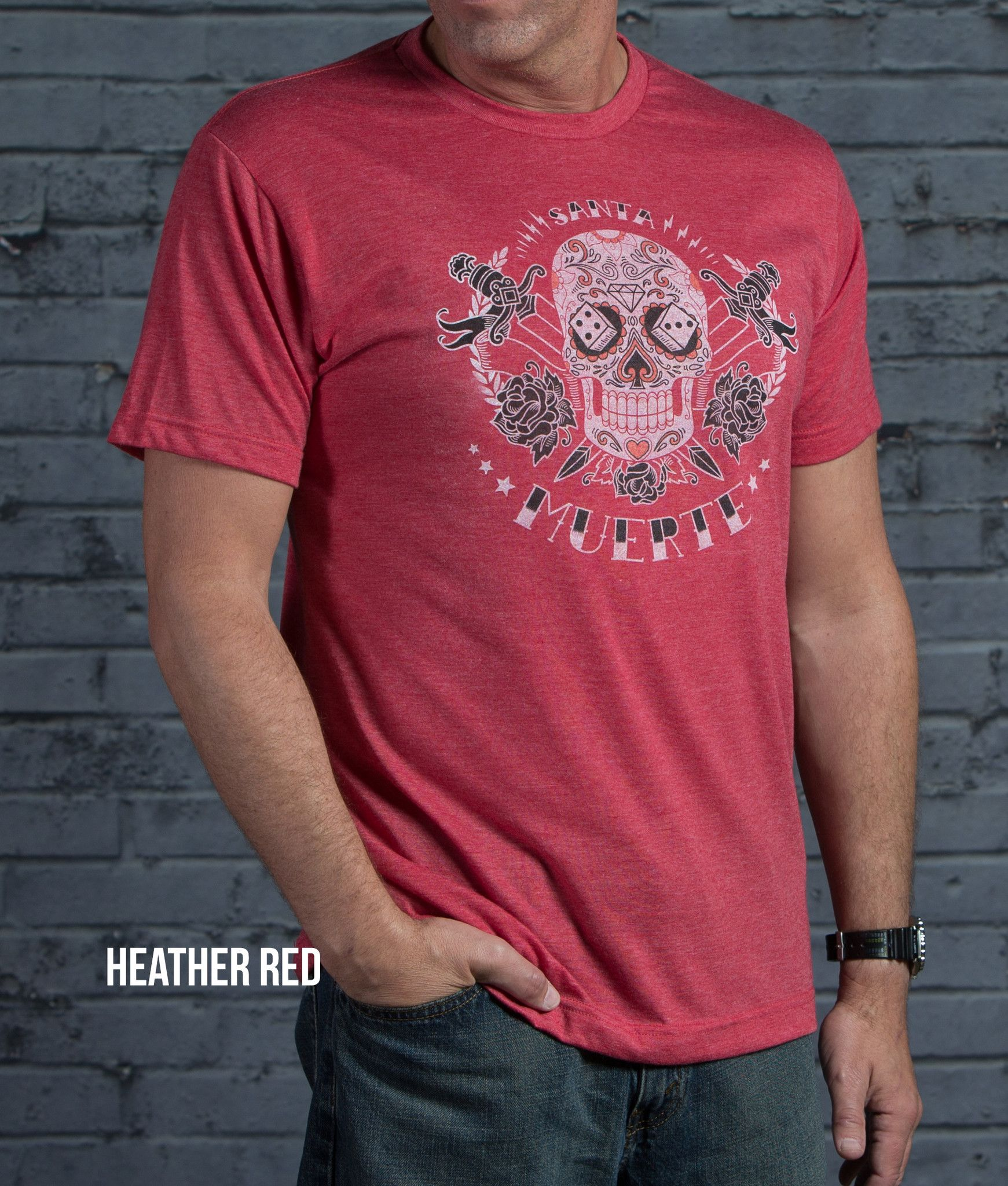 Super Soft 65% Polyester 35% Cotton, Lightweight, Athletic Cut, Vintage Graphic T. Fits True To Size. In 4 Vintage Colors.