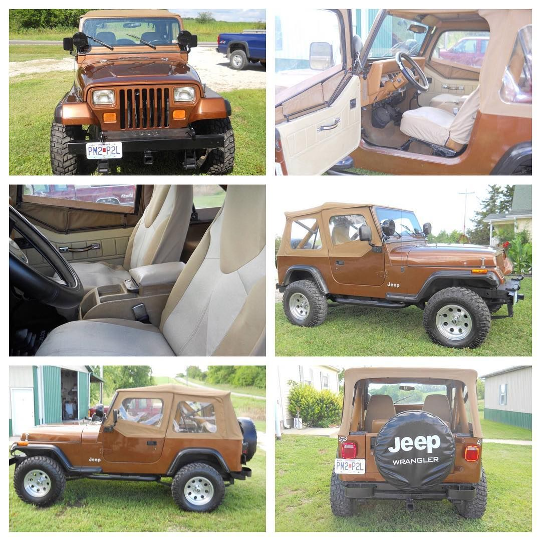 Classic Jeeps On Instagram I Like This 87 Wrangler The Brown