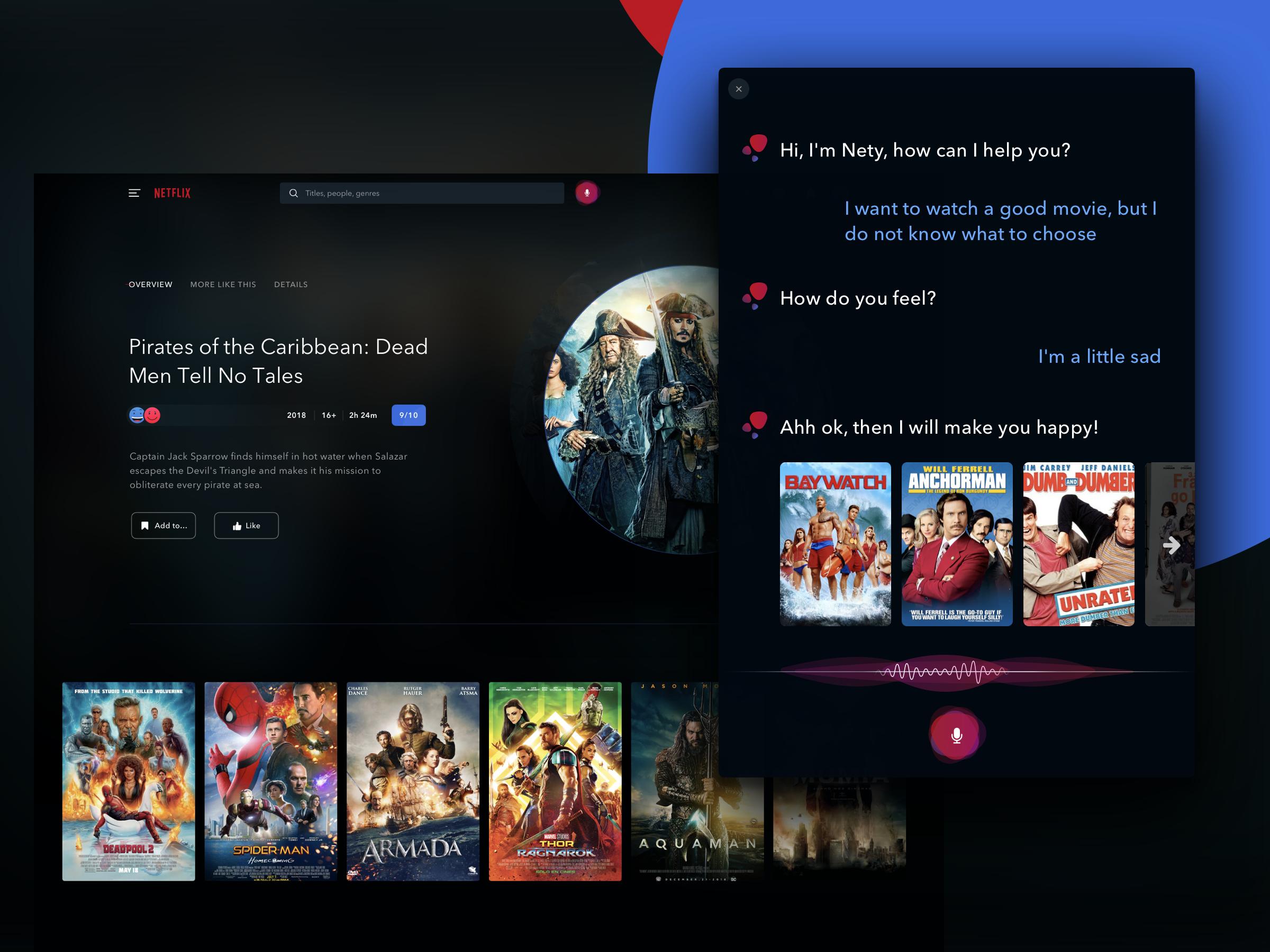 Netflix Redesign Challenge On Uplabs Website Design Inspiration Website Design Movie Website