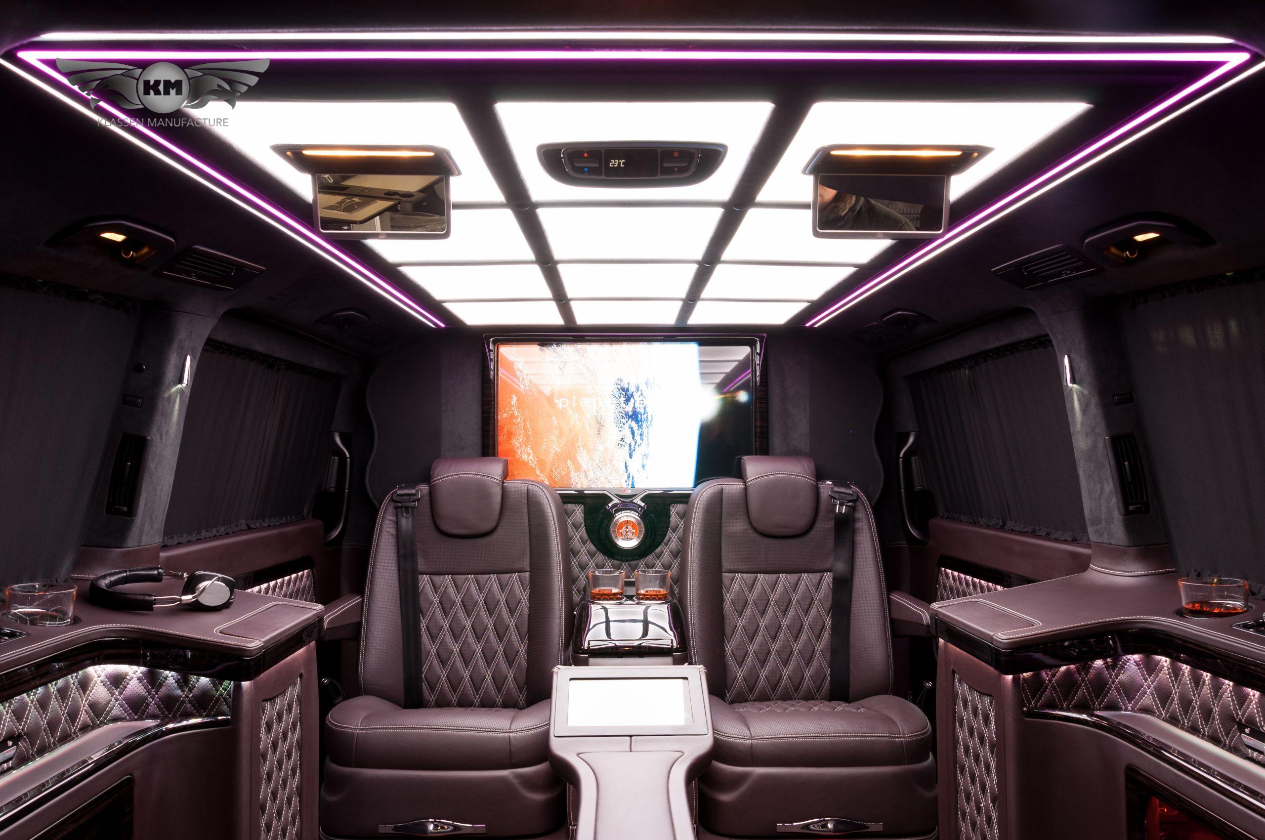 New mercedes benz v class v250 with exclusive business interior vip van