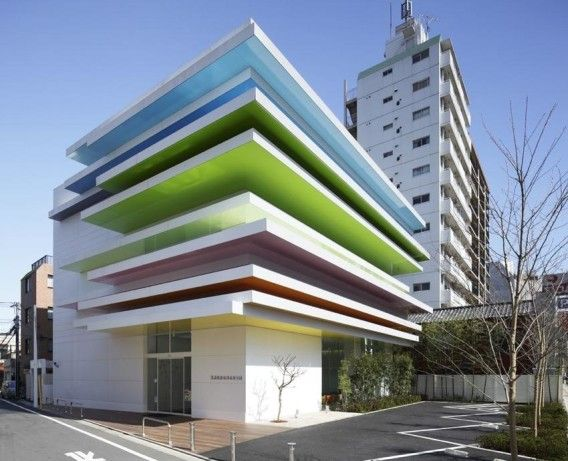 ffice architecture – some of the best examples Sugamo shinkin bank – Tokyo, Japan.