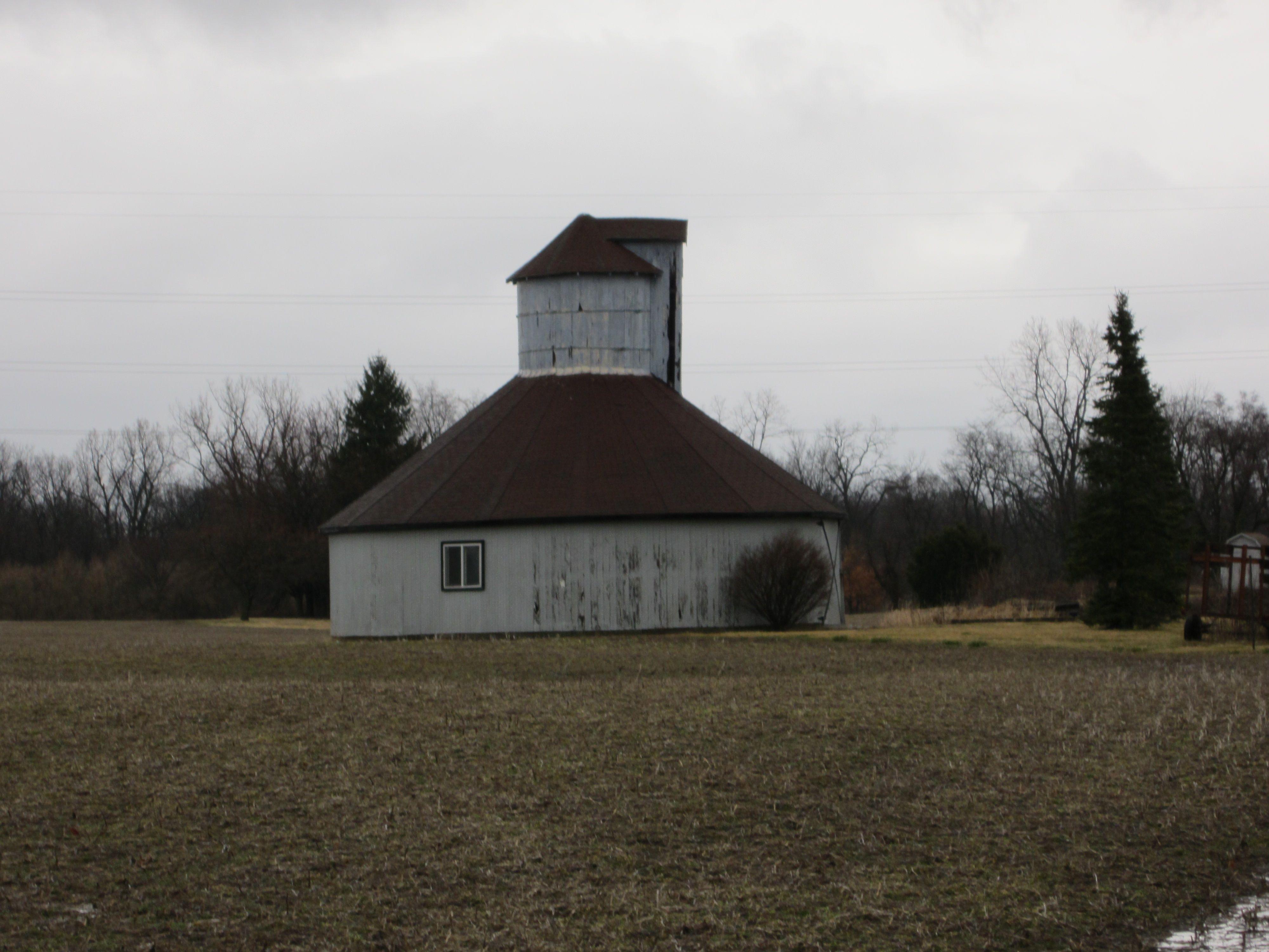 Round Barn Randolph County, Indiana Barn cupola, Farm