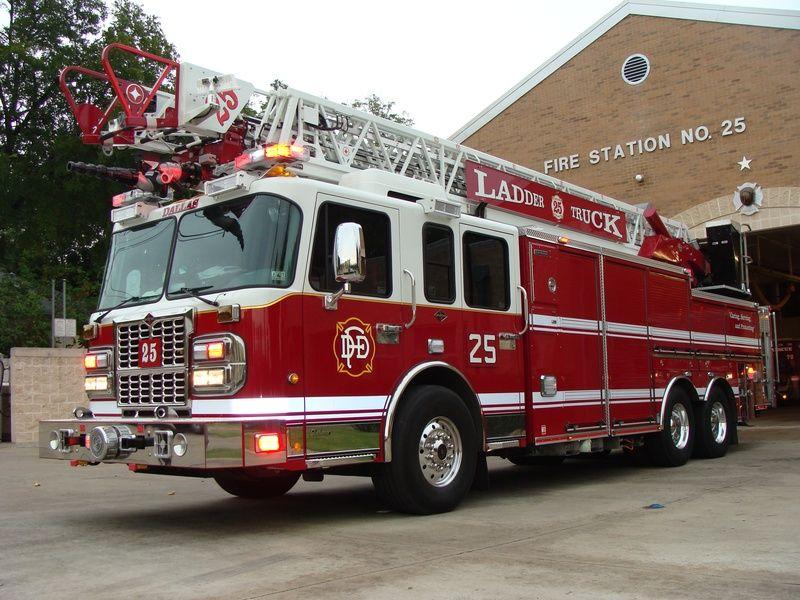 Dallas FD Truck 25 Fire trucks, Fire rescue, Rescue vehicles