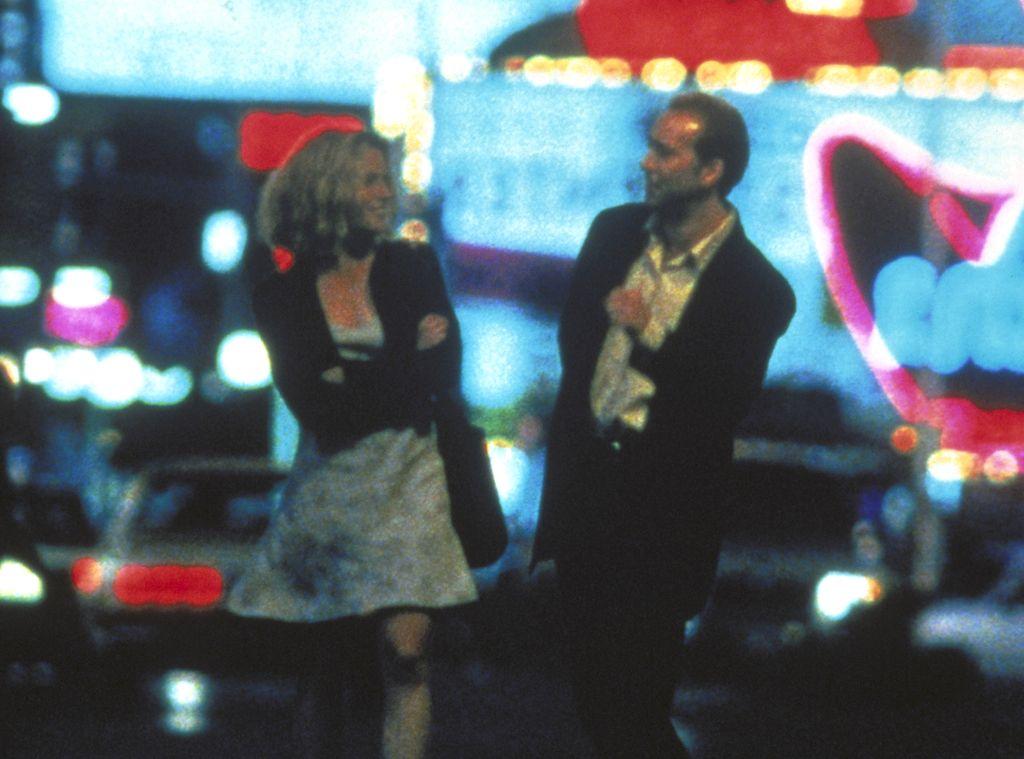 leaving las vegas sera and ben Mike figgis' grim drama documents a romantic triangle of sorts involving  prostitute sera (elisabeth shue), failed hollywood screenwriter ben (oscar- winner.
