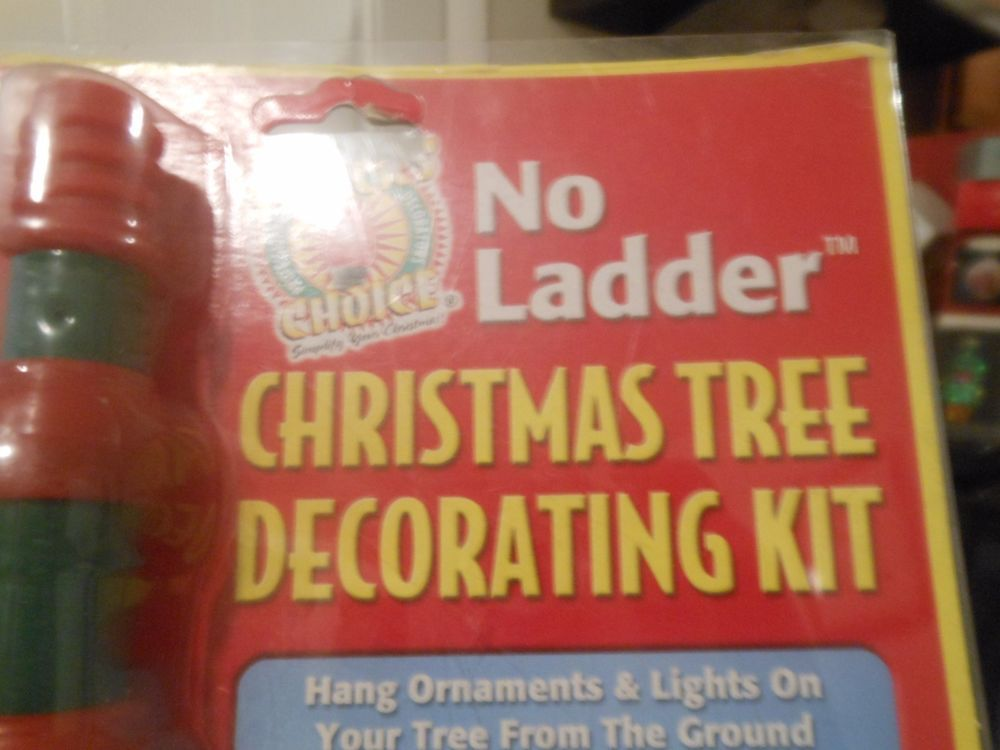 No Ladder Christmas Holiday Light Hanging Kit Extension Pole With Clips Stnickschoice
