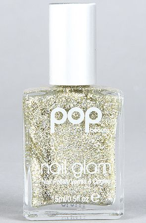 The Nail Glam Polish in Gold Glitz by Pop Beauty
