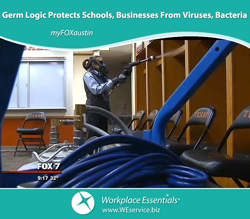 Germ Logic Protects Schools, Businesses From Viruses