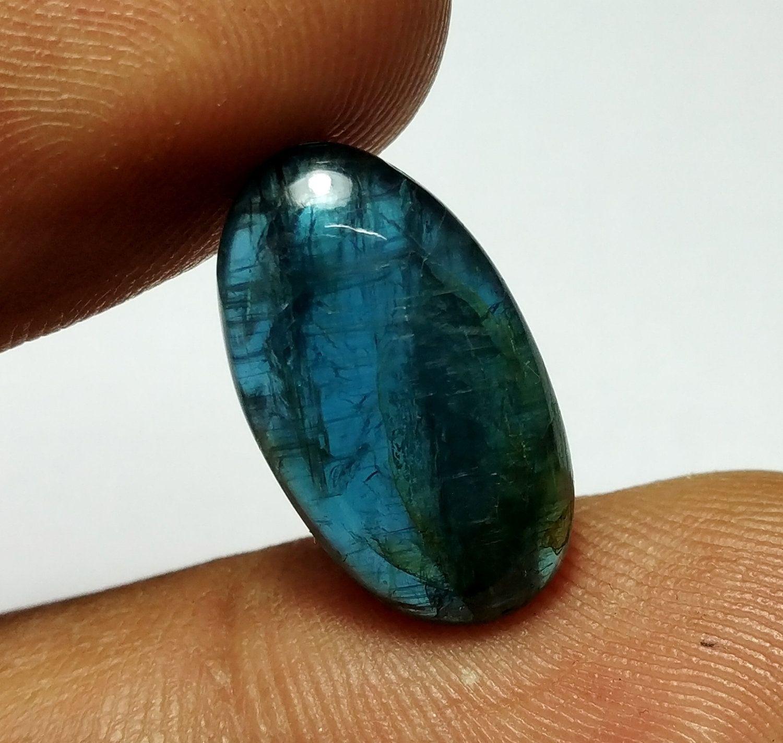 Loose Kyanite Gemstone Oval Shape Gemstone 4 Pieces Lot 22.90 Carat  10x8 To 13.5x9 mm Loose Kyanite Gemstones For Use Jewelry Making