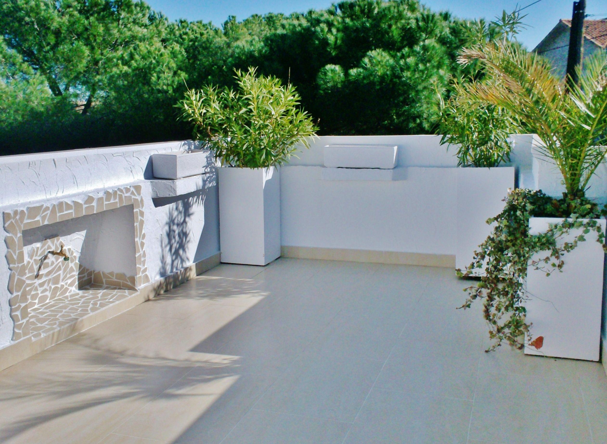 Proyecto Integral Terraza Solados Estucados Hornacinas Instalaciones De Agua Y Electricidad Decoracion De Exteriores Instalacion De Agua Decoracion De Unas