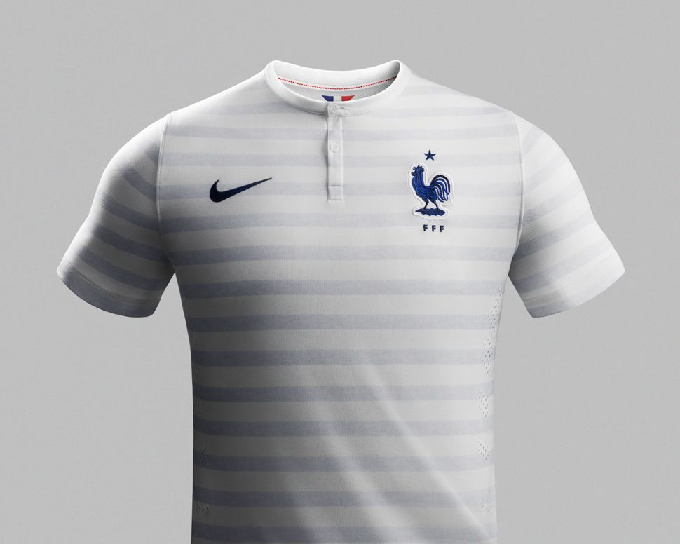 buy popular 79a29 818dd France National Football Team 'Away' Kit for 2014 x Nike ...