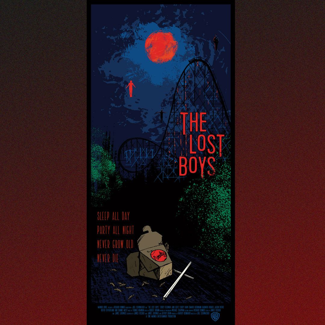 The Lost Boys by Laup, Equator Design Manchester Halloween