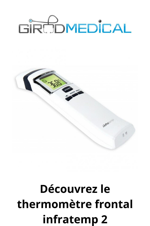 Thermomètre infrarouge sans contact InfraTemp 2 en 2020 | Le