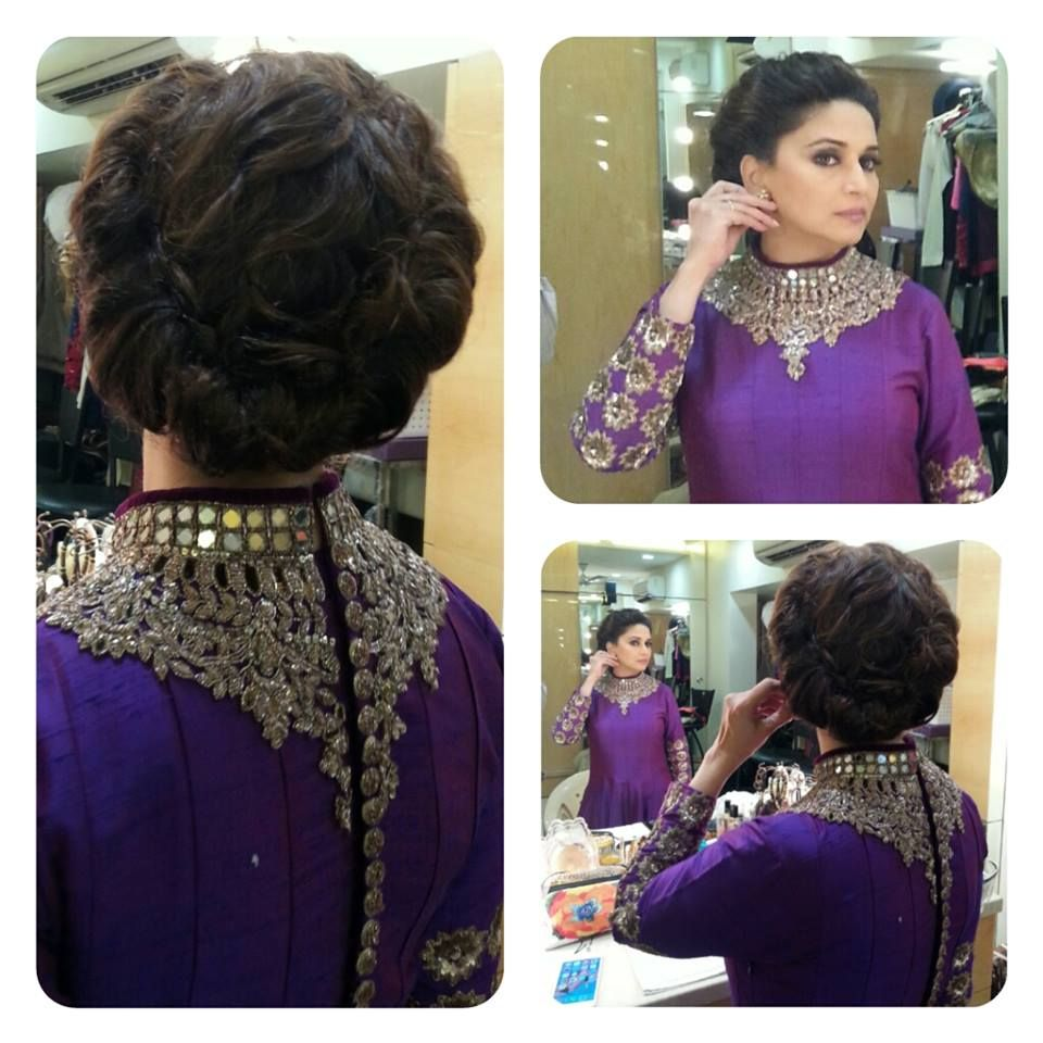 Hair Styles, Madhuri Dixit, Hair Updos