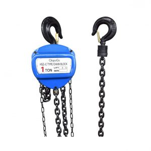 Ctopogo 1 Ton 2200lbs Capacity Manual Hand Chain Hoist Hoist Hand Chain Metal Construction