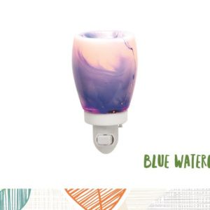 Blue Watercolor Scentsy Nightlight Warmer Scentsy Nightlights
