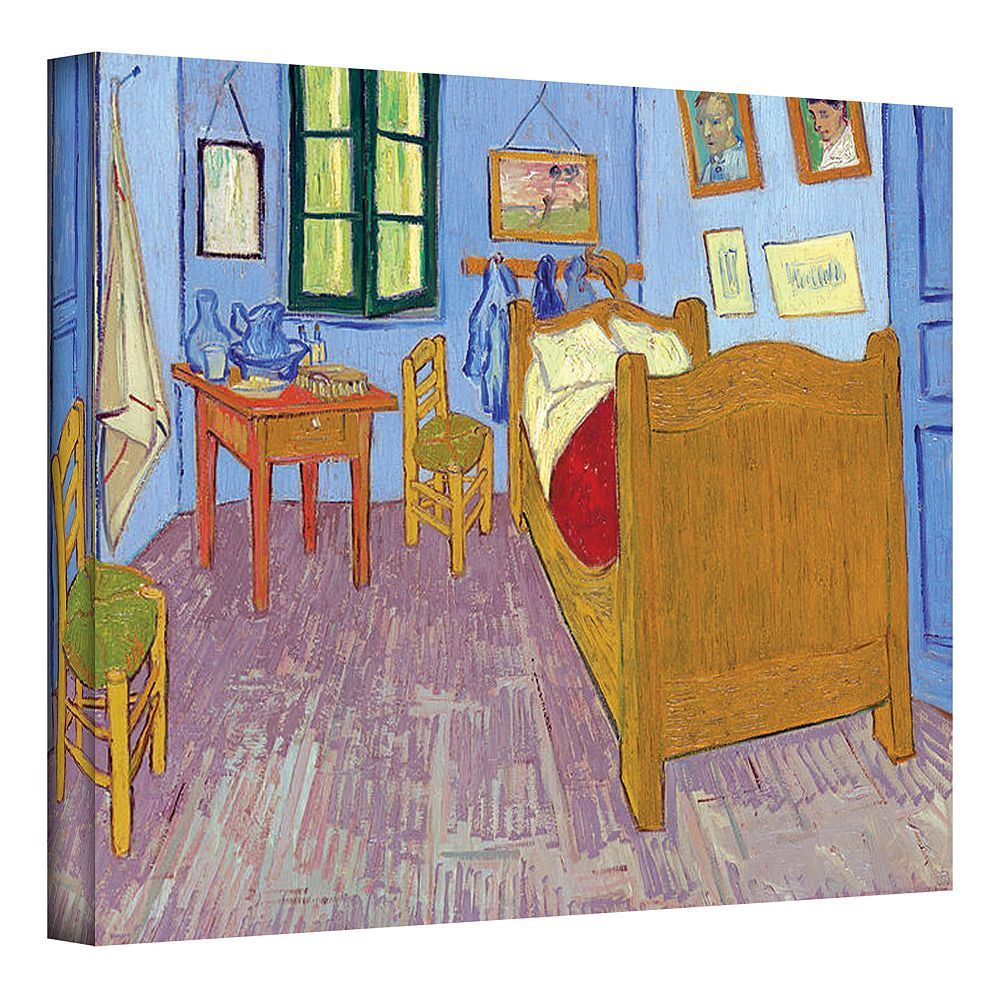 24\'\' x 32\'\' \'\'The Bedroom\'\' Canvas Wall Art by Vincent van Gogh in ...