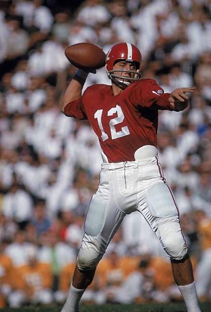 Alabama QB Joe Namath in action vs Tennessee Crimson Tide Football 23be24483
