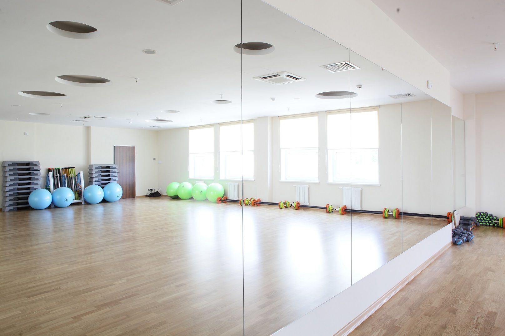 set up your own gym and dance studio with great quality mirror rh pinterest com Peaceful Home Decor Peaceful House
