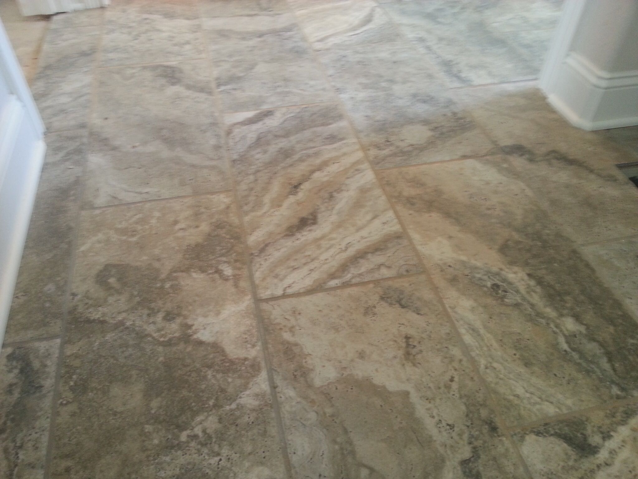 Another Great Pic Of Crystal River Tile This Chiseled Edge Tile Series Is Called Archaeology By Marazzi And We Have A Tile Work Crystal River Hardwood Floors
