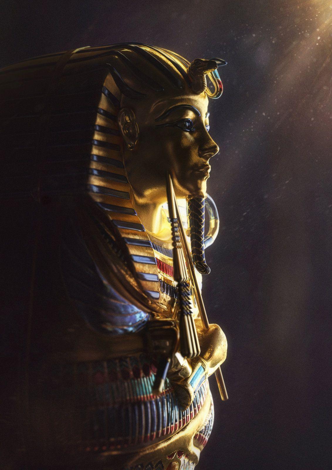 Faraon Andrey Ryzhov Egypt Wallpaper Tutankhamun Egyptian Pharaohs