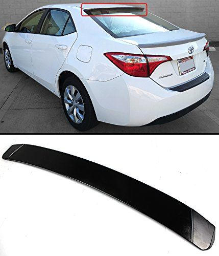 Jdm Sport Style Rear Roof Window Spoiler Visor Wing For 20142017 Toyota Corolla Find Out More About The Gr Toyota Corolla Toyota Corolla 2017 Sport Fashion