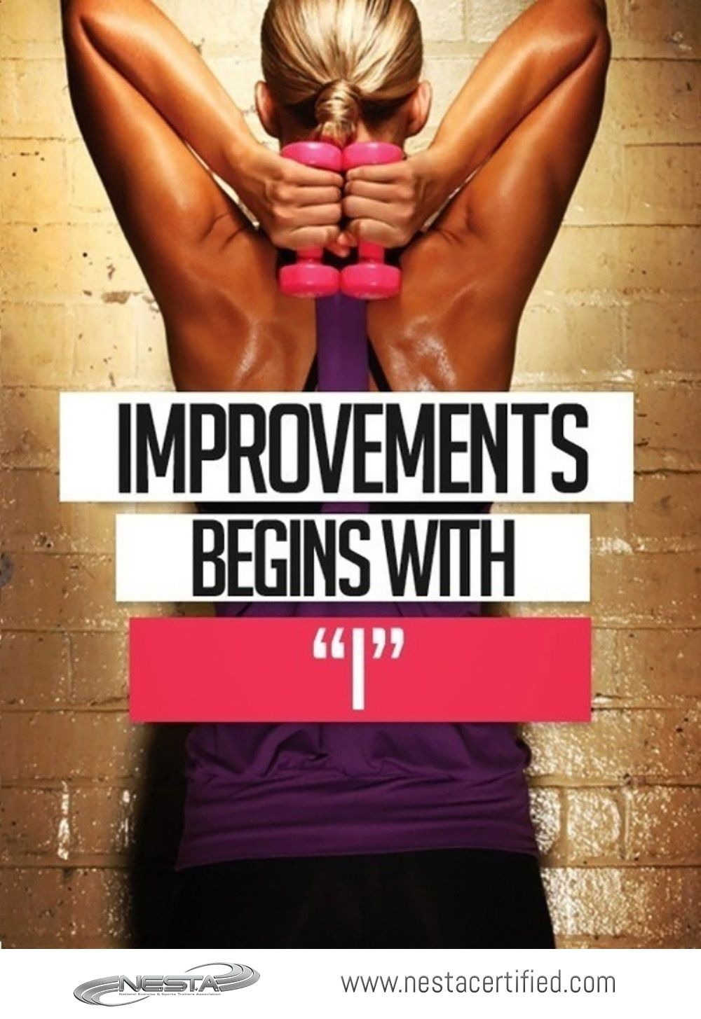 NESTA Personal Trainer Certification  Fitness Motivation