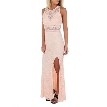 City Triangles Juniors Shimmering Lace and Embellished Illusion ...
