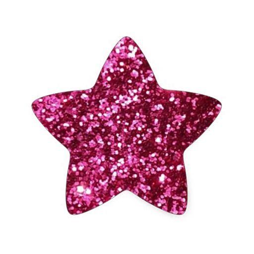 Hot Neon Pink Sparkle Glitter Background Party Fun Star Sticker Zazzle Com In 2021 Pink Glitter Background Glitter Background Glitter Stickers