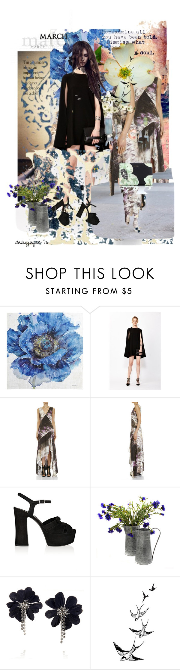 """""""march reflections"""" by daizyjayne ❤ liked on Polyvore featuring Emma Watson, Pier 1 Imports, Decjuba, Yves Saint Laurent, Lanvin, Paul Smith, willow and decuba"""
